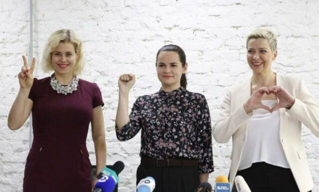 elezioni bielorussia-Tikhanovskaya