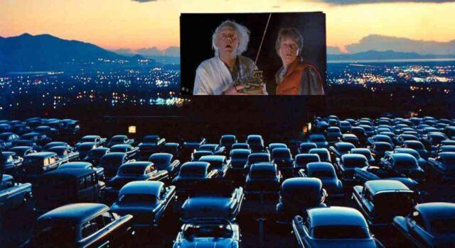 Film, cinema all'aperto