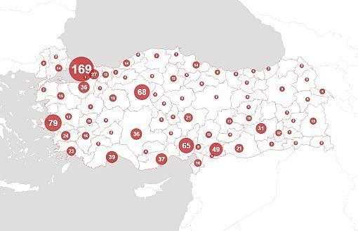 mappa femminicidio in Turchia