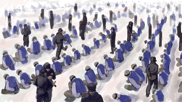 Xinjiang come Auschwitz: campi di