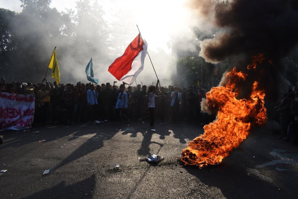 proteste in Indonesia, Omnibus Law