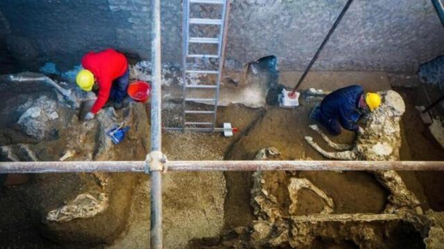 scoperta scavi di Pompei (fonte: napoli.repubblica.it)