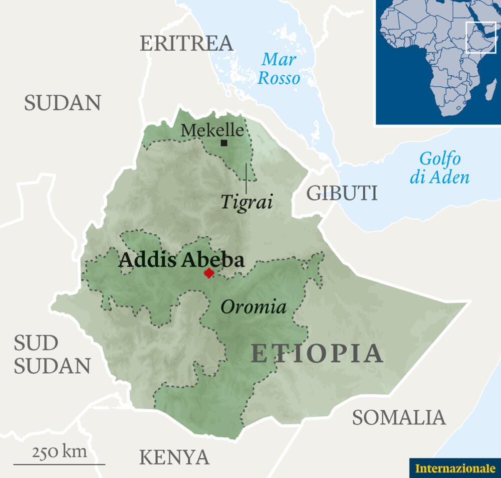 Etiopia Tigray guerra