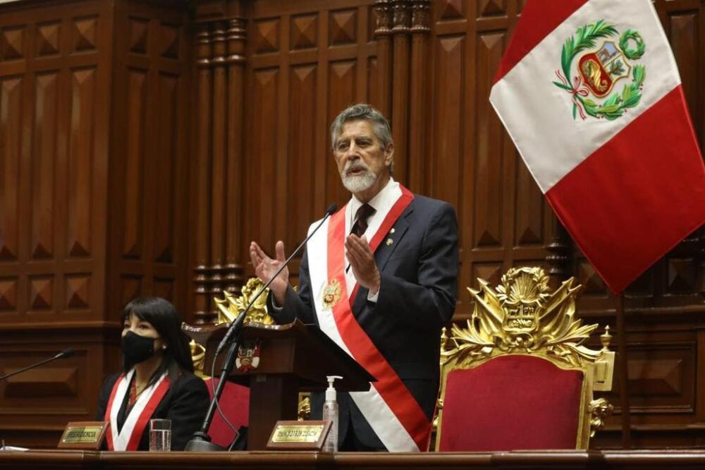 Sagasti presidente Perù