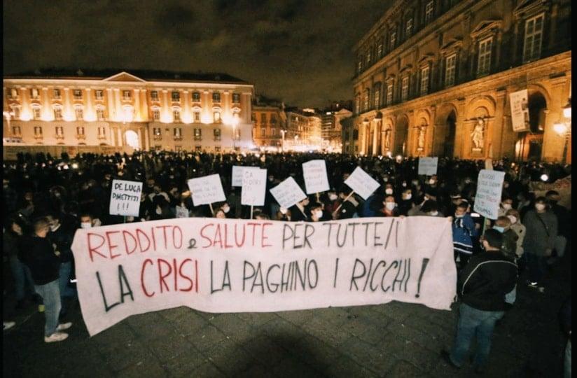 Proteste di piazza