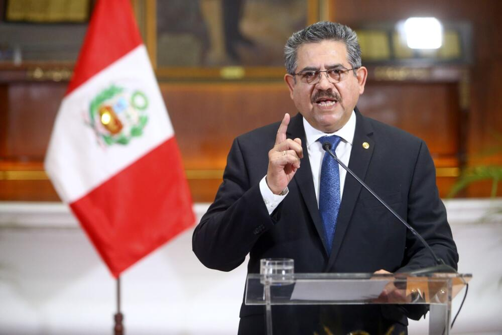 Manuel Merino presidente ad interim Perù