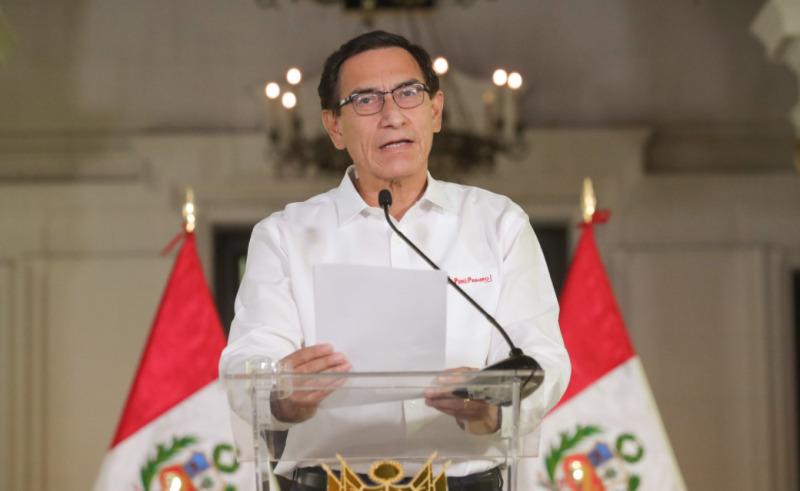 Martín Vizcarra presidente destituito Perù