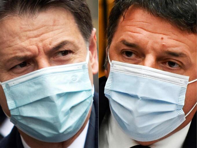 Crisi di governo, Giuseppe Conte, Matteo Renzi
