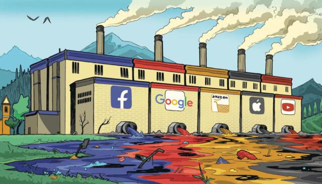 Impronta ecologica di Internet