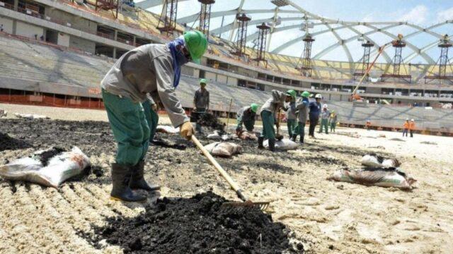 Qatar, lavoratori