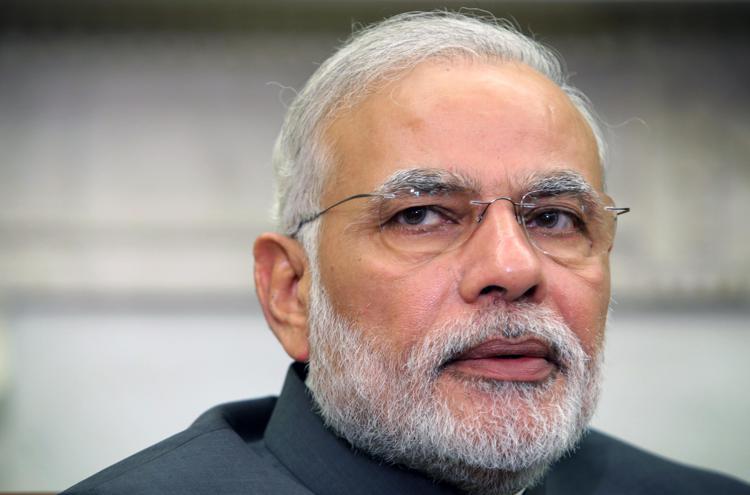 Primo Ministro indiano - Narendra Modi
