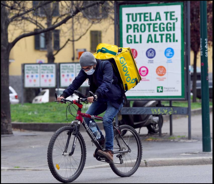 Food delivery e rider: la Procura presenta il conto alle piattaforme