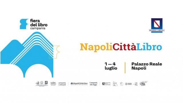 Napoli Libro, fonte: https://www.ildenaro.it/napoli-citta-libro-dall1-al-4-luglio-oltre-120-eventi-al-palazzo-reale-di-napoli/