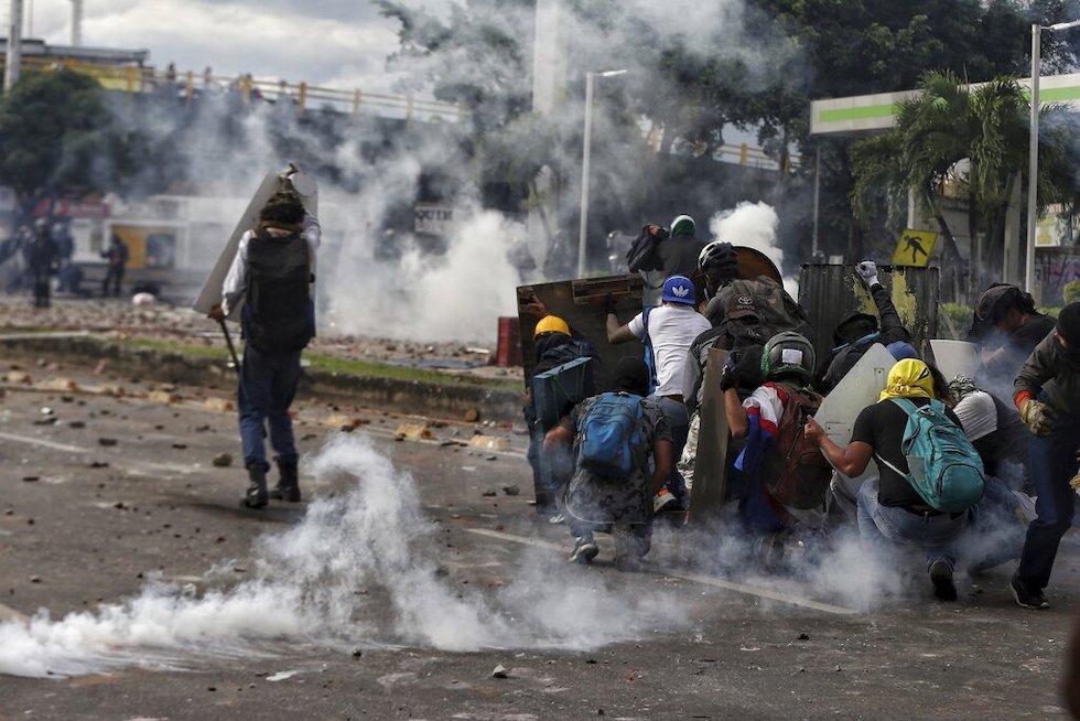 Colombia proteste Duque
