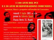 100 anni PCI 30 anni RC