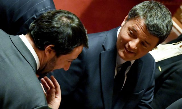 Renzi ci prova con Salvini: affossare il DDL Zan per puntare al Colle