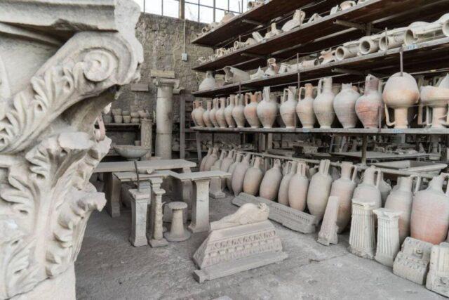 Granai del Foro, Pompei (fonte immagine: PA-POMPEI)