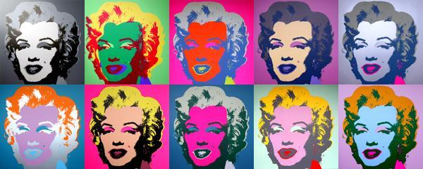 Andy Warhol, Marilyn Monroe, 1967, serigrafia a colori. Colorado, Powers Art Center, Collezione John e Kimiko Powers