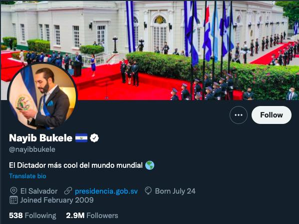 El Salvador Bitcoin Bukele