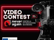 Never Again contro la vittimizzazione secondaria: al via il video contest